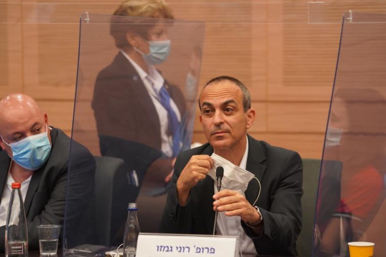 פרופ' רוני גמזו בכנסת (צילום: שמוליק גרוסמן, דוברות הכנסת)