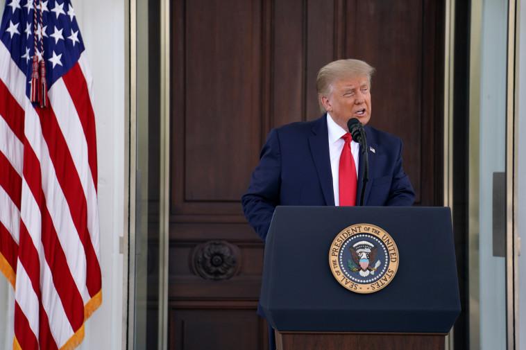 דונלד טראמפ (צילום: REUTERS/Sarah Silbiger)