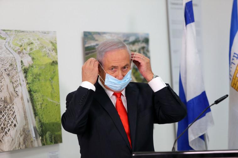 ראש הממשלה בנימין נתניהו (צילום: Alex Kolomoisky/Pool via REUTERS)