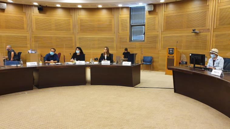 הדיון בוועדת הקורונה (צילום: דוברות ח''כ יפעת שאשא-ביטון)