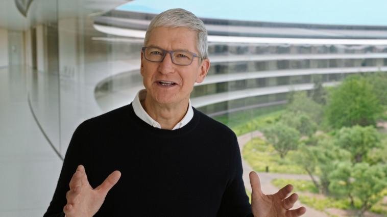 טים קוק (צילום: Apple Inc/Handout via REUTERS)
