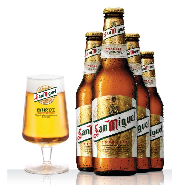 סן מיגל. הבירה החביבה על החברים של טליה  (צילום: יח''צ)