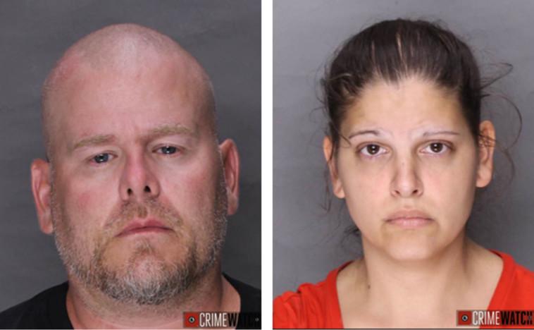 הזוג המתעלל (צילום:  Lebanon County District Attorney's Office)