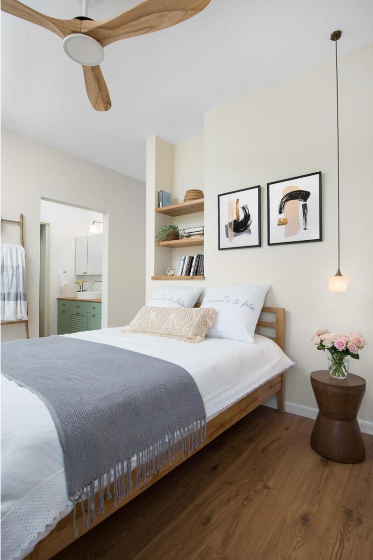 וגם לדאוג למיטה מפנקת (צילום: אביב קורט)