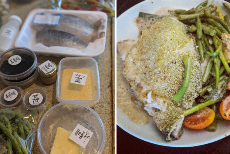 לפני ואחרי CHEF 2 TABLE (צילום: אסנת גואטה)