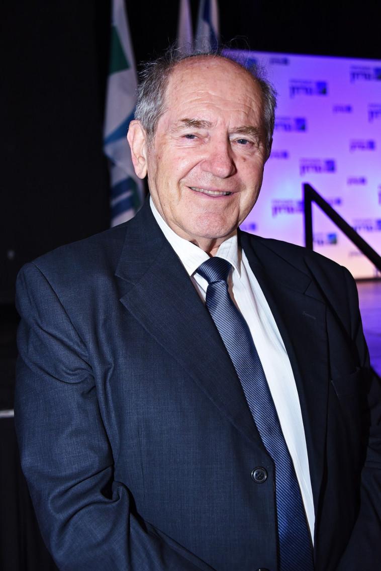 פרופ' יחזקאל טלר, נשיא המכללה האקדמית גורדון (צילום: דוד שי)