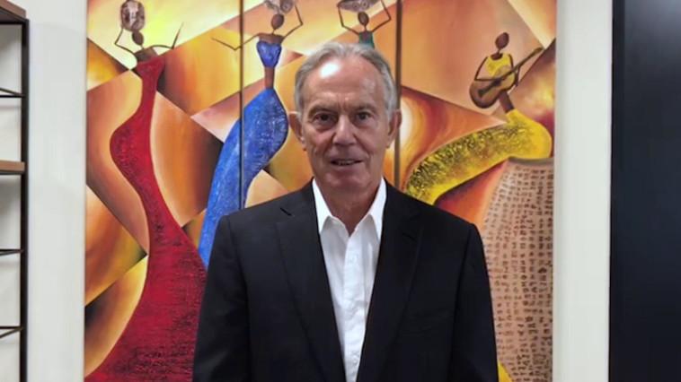 טוני בלייר (צילום: באדיבות מרכז פרס לשלום וחדשנות)