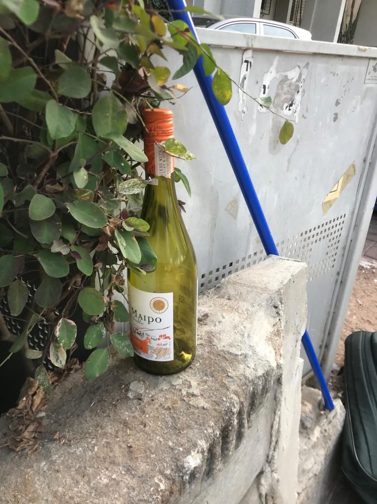 היה היה בקבוק בודד, בקצת שכונה  (צילום: טליה לוין)