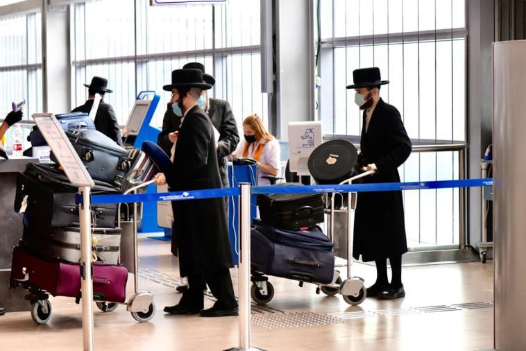 כ-5,000 ישראלים המריאו מנתב''ג (צילום: אבשלום ששוני)