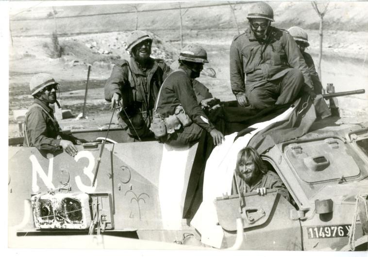 חזית הדרום במלחמת יום הכיפורים (צילום: חנניה הרמן)