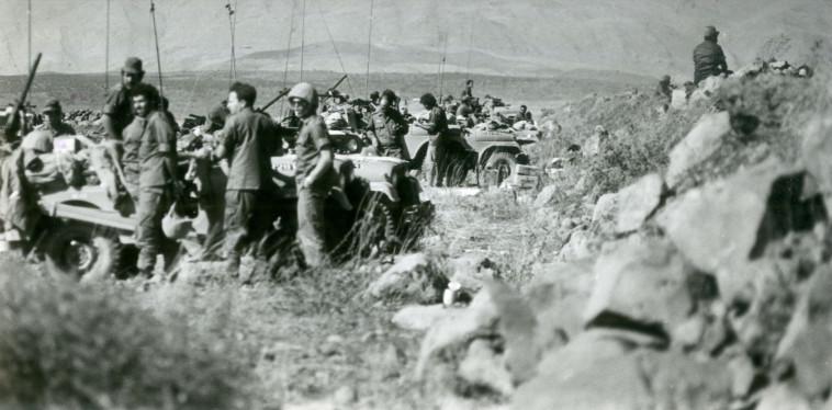 כוחות צה''ל בחזית הדרום - מלחמת יום הכיפורים (צילום: דובר צה''ל)