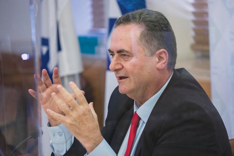 ישראל כץ (צילום: אוליבייה פיטוסי, פלאש 90)
