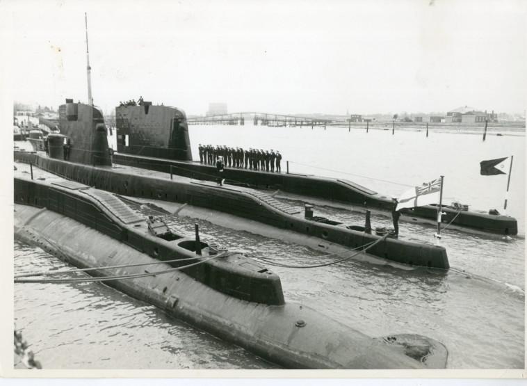 הצוללת אח''י דקר (צילום: דובר צה''ל)