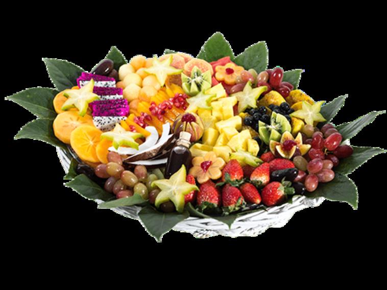 סלסלת פירות (צילום: פרי גנך)