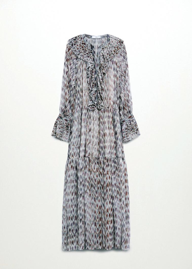 שמלה של מנגו. מחיר: 599.90 ש''ח (צילום: יח''צ חו''ל)