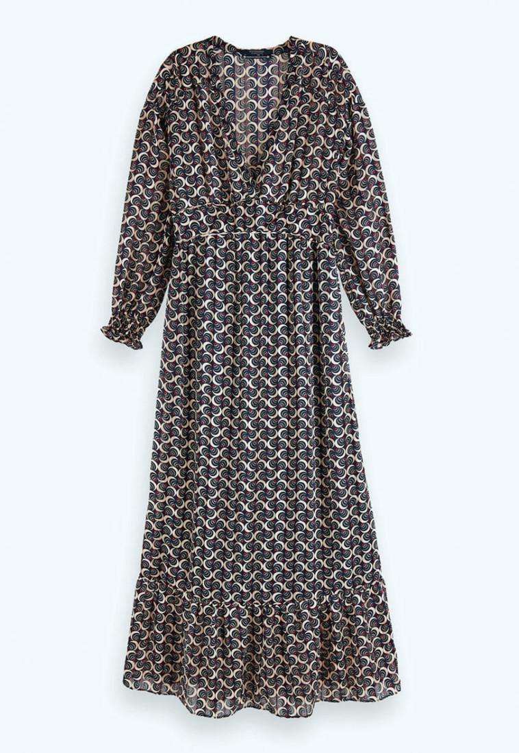 שמלה של scotch&soda. צילום: 749 ש''ח (צילום: יח''צ חו''ל)
