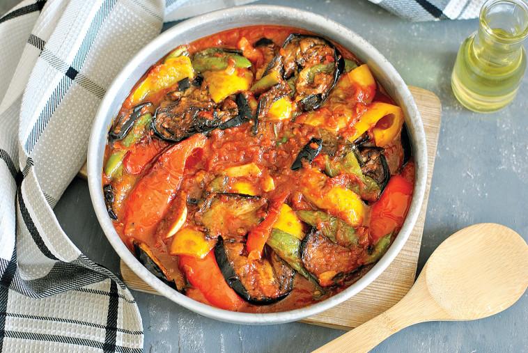 טנגו ירקות מפולפלים (צילום: פסקל פרץ-רובין)