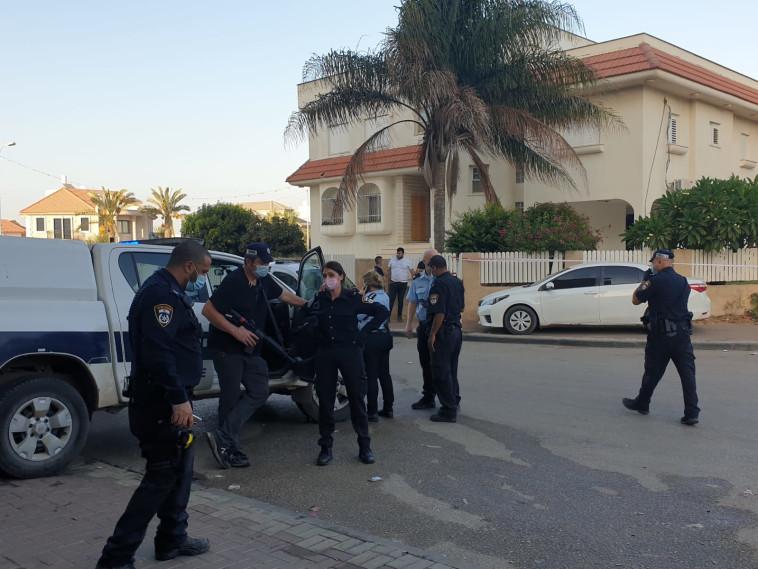 חשד לרצח בטירה (צילום: דוברות המשטרה)