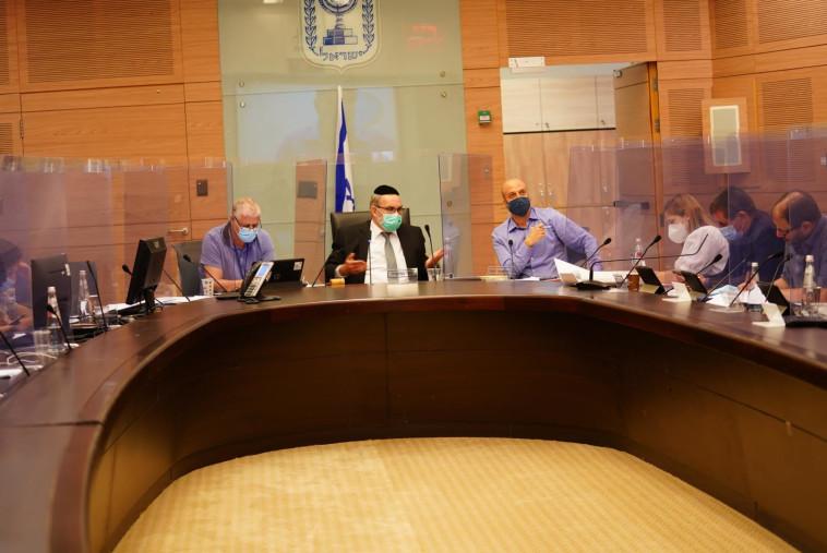 הדיון בוועדת החוקה (צילום: דוברות הכנסת)