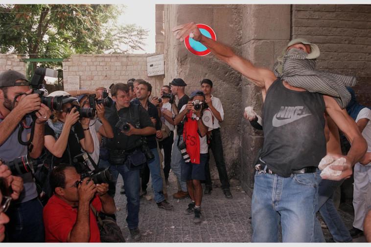 מהומות אוקטובר 2000 (צילום: אבי אוחיון, לע''מ)