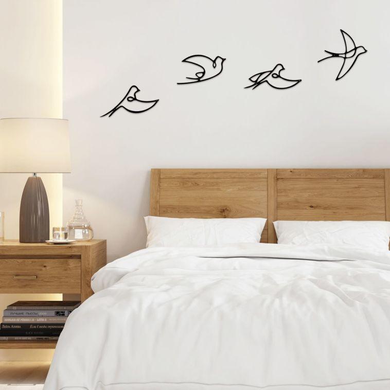 דקורציה לקיר ממתכת (צילום: yume design)