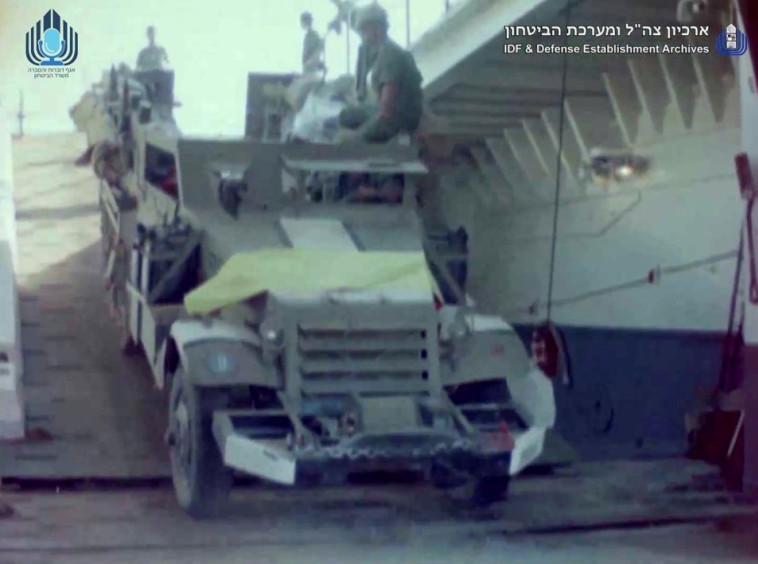 מלחמת יום הכיפורים בצבע (צילום: ארכיון צה''ל במשרד הביטחון)