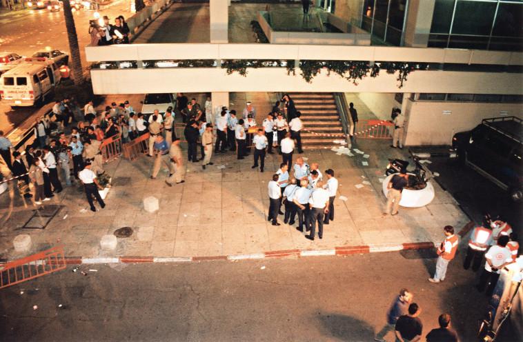 זירת רצח רבין (צילום: נעם וינד)
