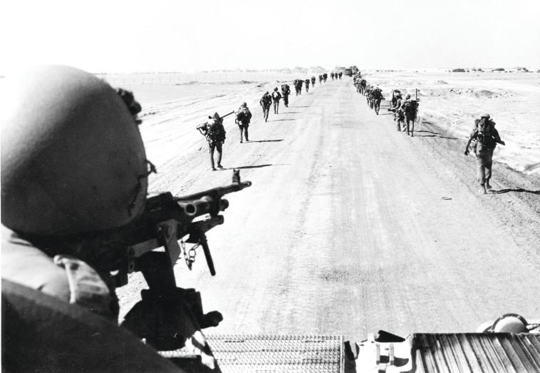 חזית הדרום במלחמת יום הכיפורים (צילום: ארכיון משרד הביטחון)