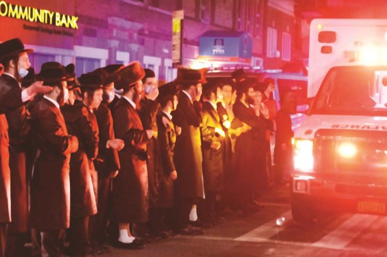 חרדים בניו יורק (צילום: רויטרס)