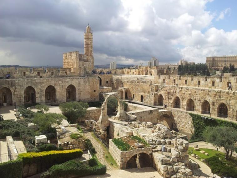 מוזיאון מגדל דוד (צילום: חמוטל וכטל)