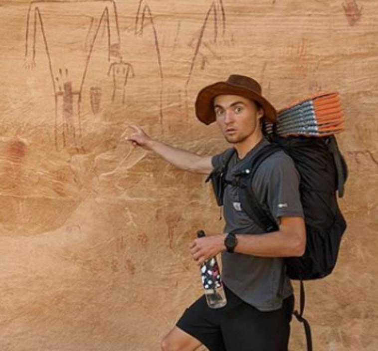 קייל בורג'ס, הרץ שהתמודד עם פומה (צילום: רשתות חברתיות)