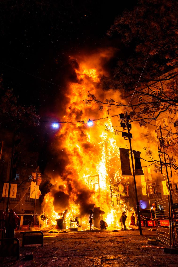 שריפה, אילוסטרציה (צילום: אינגאימג')