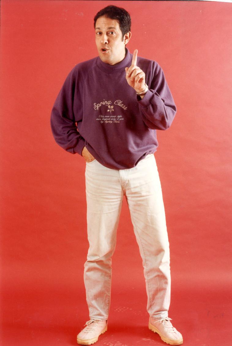איתן מסורי בשנת 1994 (צילום: ראובן קסטרו)