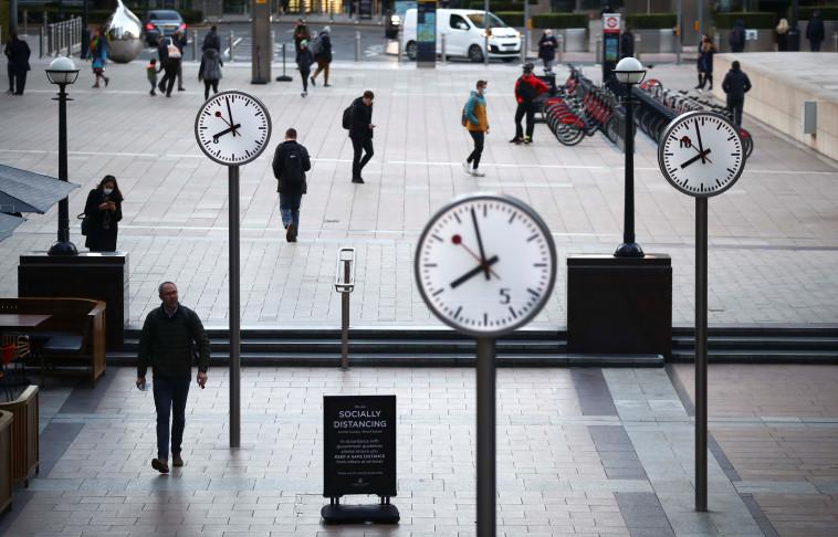 לונדון בגל השני (צילום: REUTERS/Hannah McKay)