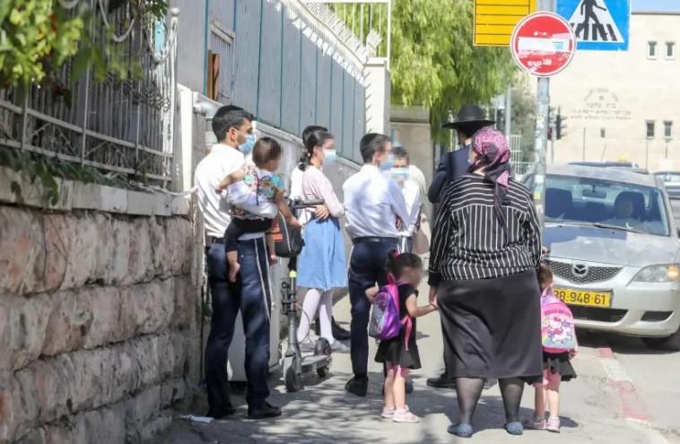 חרדים בירושלים (למצולמים אין קשר לכתבה) (צילום: מרק ישראל סלם)