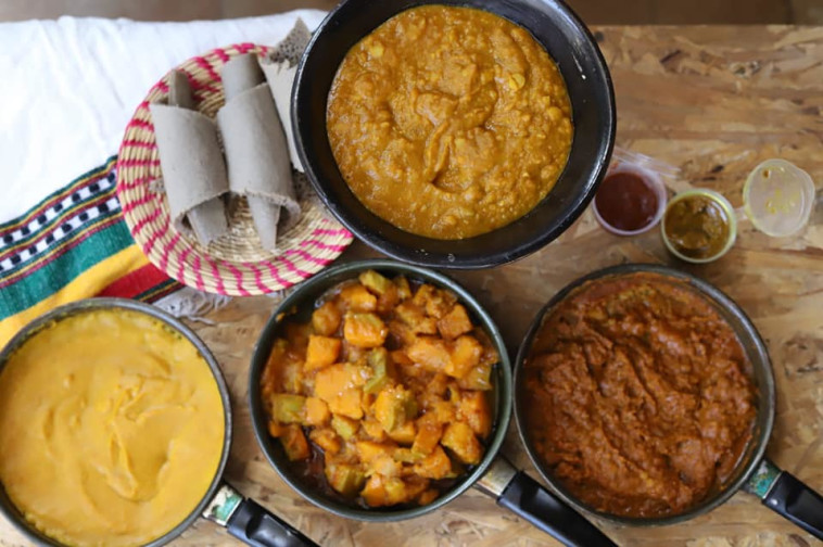 מסעדת בונה האתיופית (צילום: תדלא אסרס)