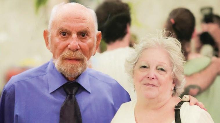 דני וחוליה אברהמי ז''ל (צילום: פרטי)