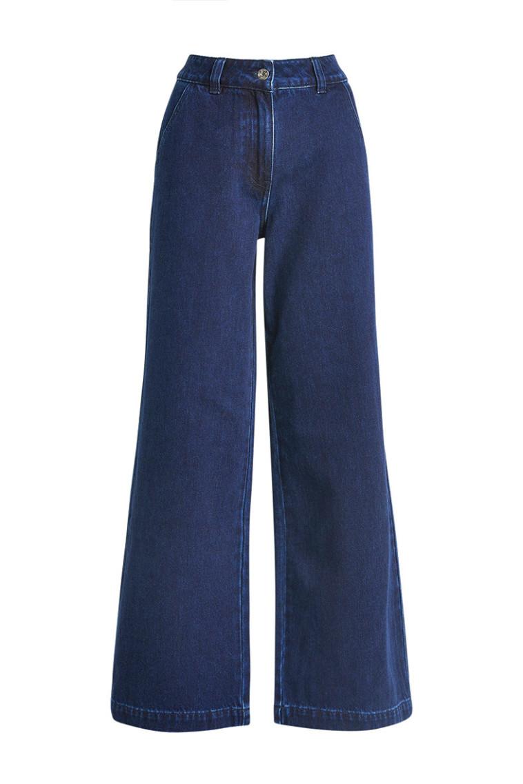 ג'ינס בגזרה רחבה של NEXT (צילום: יח''צ)