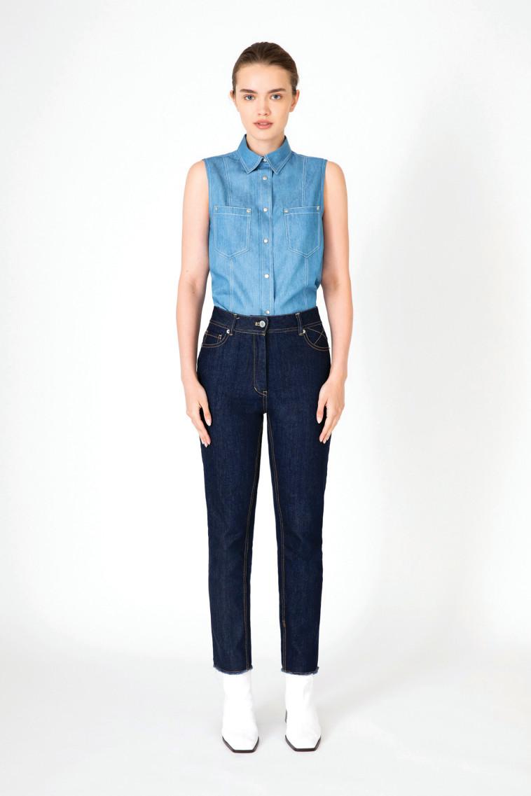 HANNAH לאתר MOXIE TLV חולצה וג'ינס כא 650 שח (צילום: לנה זלדטץ)