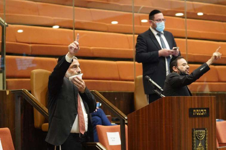 ההצבעה על הקמת ועדת החקירה לפרשת הצוללות (צילום: דוברות הכנסת, שמוליק גרוסמן)