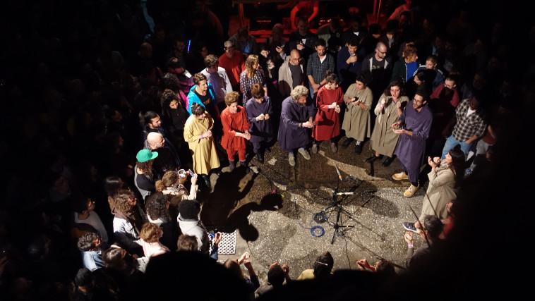 מקהלת גיא בן הינום (צילום: אריאל נשרי)