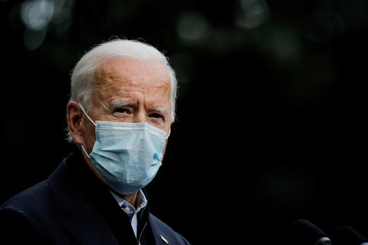 המועמד לנשיאות ג'ו ביידן (צילום: רויטרס)