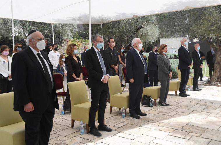 הטקס לזכר רבין (צילום: מארק ניימן, לע''מ)
