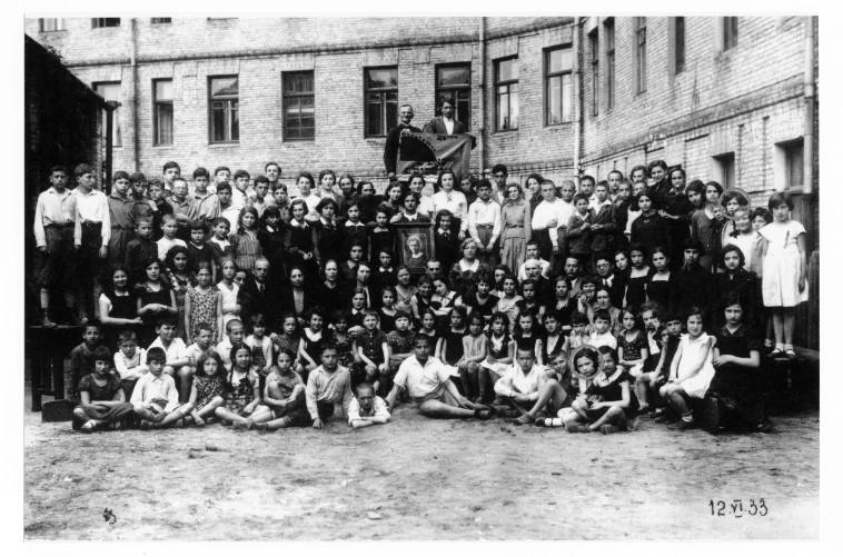 צילום כיתתה של בבה (צילום: באדיבות ארכיון מכון YIVO למחקר יהודי)