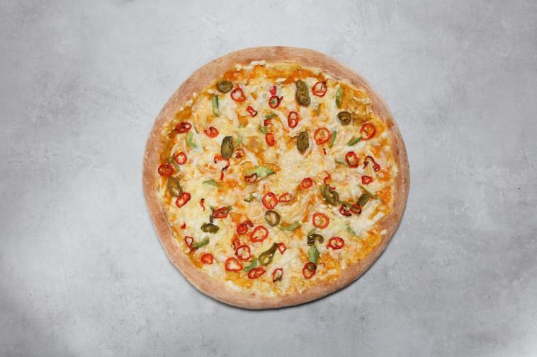 פיצה טבעונית של ''פאפא ג'ונס'' (צילום: פאפא ג'ונס)