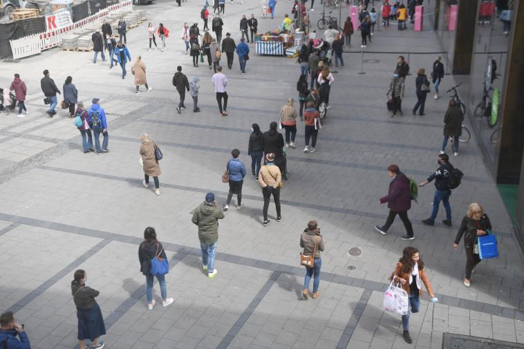 רחובות גרמניה בימי הקורונה  (צילום: רויטרס)