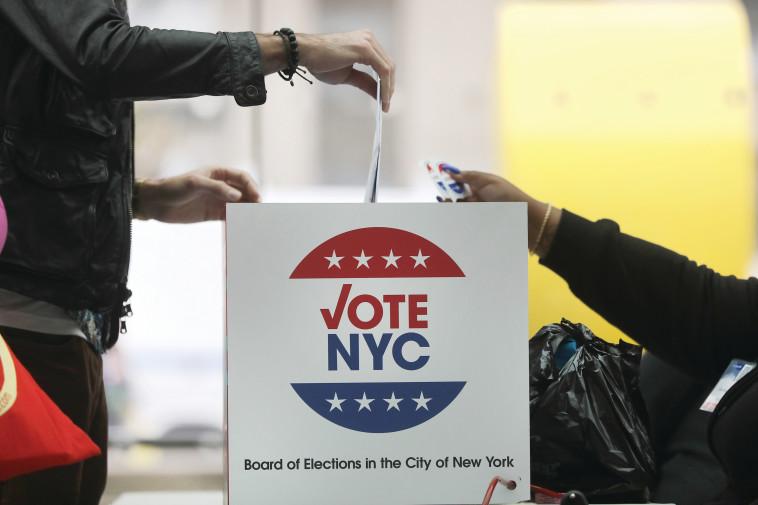 קלפי בבחירות לנשיאות ארצות הברית (צילום: Getty images)