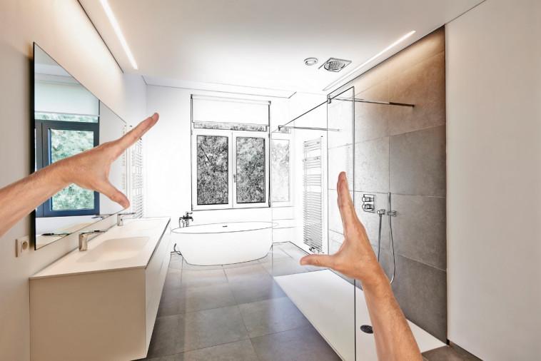 חדר אמבטיה (צילום: depositphotos)