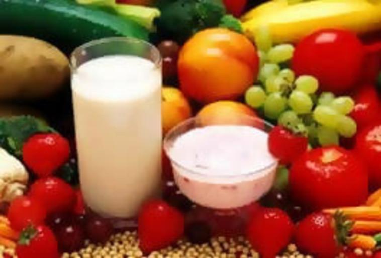 ירקות ומוצרי חלב  (צילום: Shutterstock)