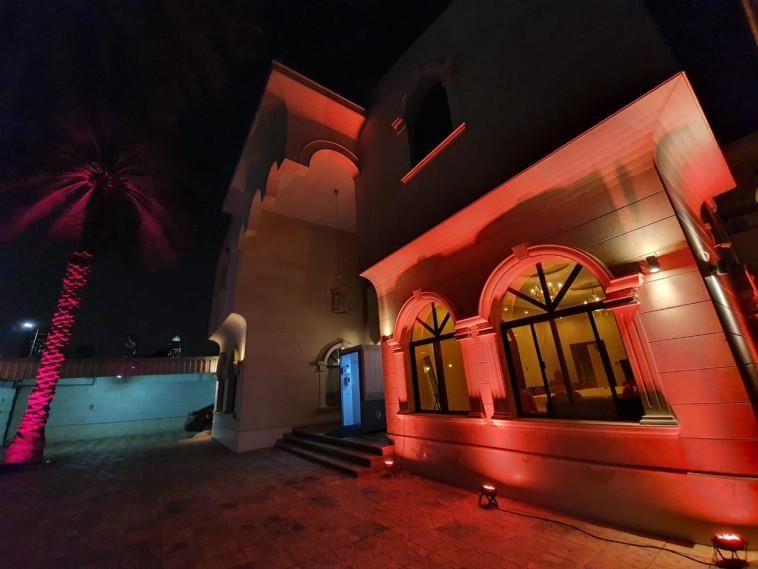 בית הכנסת בדובאי המשתתף בפרויקט ההנצחה (צילום: מצעד החיים)